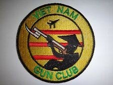 Vietnam War VIETNAM GUN CLUB Novelty Patch