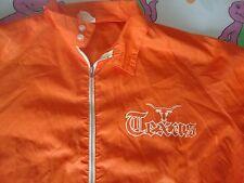 Vintage 70's NCAA Texas Longhorns Windbreaker wolf Jacket Adult Size XL