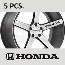 5 pcs Honda Civic ACCORD Fit CR-V Door Handle Wheel sticker decal