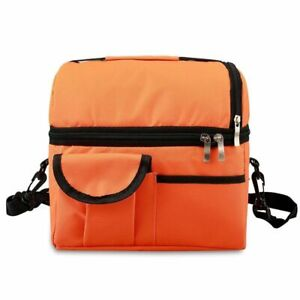 Lunch Thermal Bag Cooler And Warm Keeping Waterproof Reusable Insulated 8L