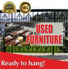 Used Furniture Banner Vinyl / Mesh Banner Sign Flag Recliners Chairs Sofas Sale