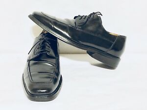 Cole Haan Size 10 M Dress Waterproof Black Leather Rubber Sole Shoes
