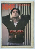 NME 4 December 1982 Simple Minds Joni Mitchell Siouxie Marshall Crenshaw