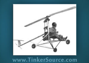 MINI-1 Ultralight Helicopter plans CD heli aircraft blueprints