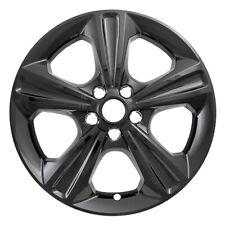"One Wheel Skin Cover Fits 2013-2016 Ford Escape 17"" Gloss Black 5 Spoke"