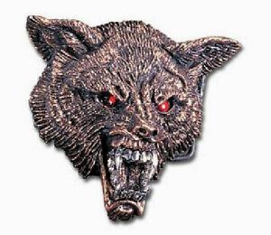 WOLF HEAD buckle Alchemy Gothic