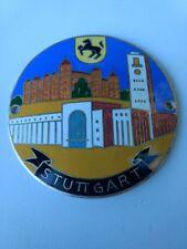 Porsche Stuttgart Rare Car Badge