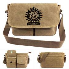 Riverdale Supernatural Canvas Shoulder Bag Women's handbags Messenger Bag Unisex