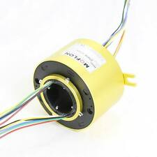 MT60130 SLIP RINGS WITH BORE SIZE 60mm,24 wires/10A each,MOFLON slip ring