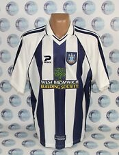 West Bromwich Albion 1998 2000 Home Football Soccer Shirt Jersey Trikot Patrick