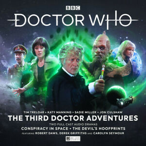 NEW BIG FINISH DR WHO THE THIRD DOCTOR ADVENTURES VOLUME 8 4CD SEE DESCRIPTION
