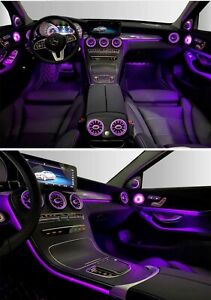 Mercedes Benz W205 C-Class Interior Ambient Light Package