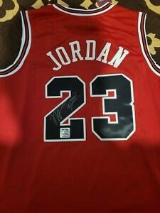 Jersey Signed By Michael Jordan