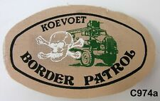 KOEVOET SWA South West Africa ELITE Police SWAPOL Special Force Border PATROL