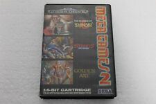 SEGA MEGA GAMES 2  SHINOBI STREET OF  RAGE GOLDEN AXE PAL A 100% ORIGINAL