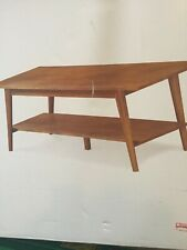 Porter Mid Century Modern Coffee Accent Table Durable wood Danish design TARGET