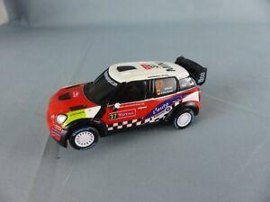 CARRERA Mini Countryman WRC SORDO  pour circuit éléctrique voiture , SLOT CAR