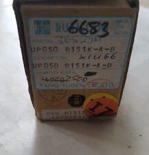 TAIYO YUDEN UP050B151K-A-B CAP CER 150PF 50V AXIAL QTY: 250 (U4.4b2)