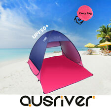 Waterproof Pop Up Portable Beach Tent UV Shelter Shade Outdoor Camping Hiking