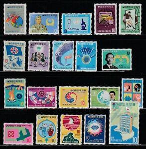 Korea   1971   Year   Group   MNH   OG   (k1971-1)