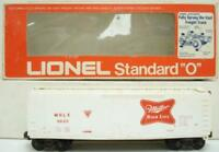 Lionel 6-9802 Miller Beer High Life Standard O Box Car  # 16  C7