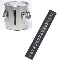 Fish Tank Aquarium Thermometer Temperature Sticker Stick-on Centigrade °C Test