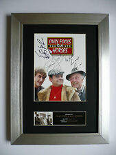 ONLY FOOLS AND HORSES Signed FRAMED Photo... BIG ...A4 size ! !