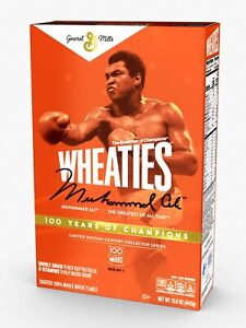 Wheaties Century Collection Gold Box #1: Muhammad Ali SOLD OUT *Limited Edition*