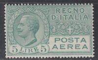 Italy Regno - 1926 Posta Aerea (Air Mail) n.7 cv 250$ super centered  MH*