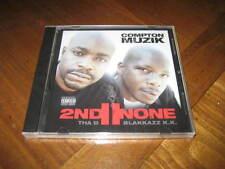 2nd II None - Compton Muzik Rap CD - tha D & Blakkazz KK - West Coast