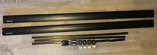 """Yakima Jetstream 60"""" Medium Bars In Black - Nice Complete Used Set"""