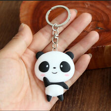 Silikon-Panda-Cartoon Keychain Beutel-Anhänger Kawaii Geschenk-Geschenk ZP