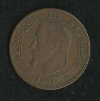 2 ct Napoleon 1861 A TTB