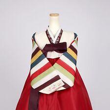 "Korean Hanbok Korean Traditional Costume Dress Set Women M 한복 5' 5"" (164cm) A008"