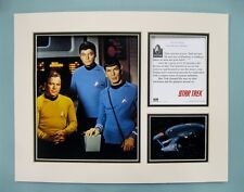 "Star Trek Original Series 11"" x 14"" MATTED Lithograph Print by OSP"