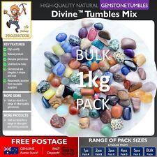 1kg BULK Divine™ Tumbles Mix | Natural Gemstones | Crystal | Polished Gem Stones