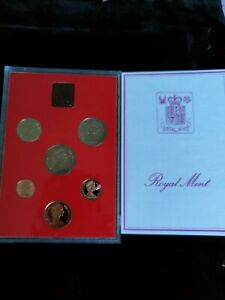 1981 Royal Mint Proof Coin Set Coinage Of Great Britain And Northern Ireland