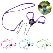 Adjustable Pets Bird Parrot Harness Leash Training Rope Anti Bite Flying Band