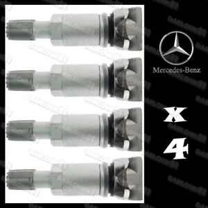 4x Tyre pressure sensor valve stem service kit TPMS for Mercedes C-Class A-Class