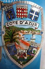 France Cote D'Azur new badge mount stocknagel hiking medallion G9732