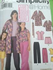 Simplicity Sewing Pattern 5324 Childs Girls Misses Pants Shorts Top 3-8 Xs-xl UC