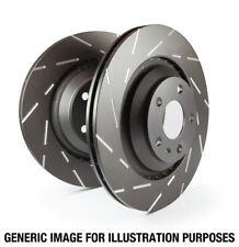 EBC for 10-13 Kia Forte 2.4 USR Slotted Rear Rotors - ebcUSR7525