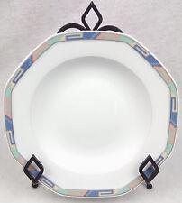 """CHRISTOPHER STUART Large Rim Soup Bowl 9 3/8"""" SOUTHWEST Y0002 Fine China PASTA"""