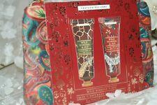 NEW Heathcote & Ivory Wild Wonder & Joy Velvety Soft Handbag HAND CREAM gift set