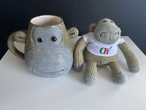 PG Tips Monkey Mug and PG tip Monkey toy