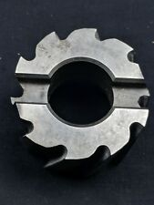 """USA MADE STANDARD TOOL SIDE MILLING CUTTER 2-1/4"""" X 1-1/2"""" X 1"""" USED"""