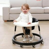 Baby Walker with Wheel Learning Anti Rollover Foldabl Multi-Functional Seat Car