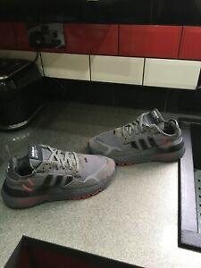 adidas nite jogger trainers size uk 7.5