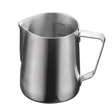 600ml Espresso Milk Frothing Pitcher Stainelss Steel Latte Kettle with Scale