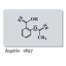 Resolución de problemas: aspirina, tarjeta de caso (Felix Hoffmann, 1897), Ottmar Hörl